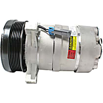 A/C Compressor Sold individually With clutch, 6-Groove Pulley