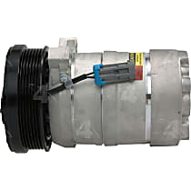 58956 A/C Compressor Sold individually With clutch, 6-Groove Pulley