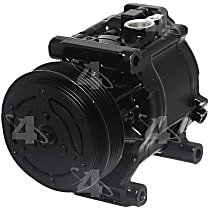 67323 A/C Compressor Sold individually With clutch, 4-Groove Pulley