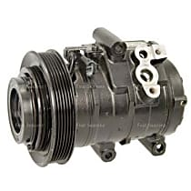 67337 A/C Compressor Sold individually With clutch, 6-Groove Pulley
