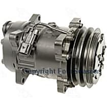 A/C Compressor Sold individually With clutch, 2-Groove Pulley