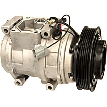 68315 A/C Compressor Sold individually With clutch, 6-Groove Pulley