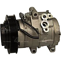 68337 A/C Compressor Sold individually With clutch, 6-Groove Pulley