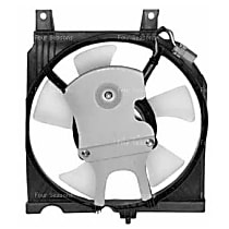 4-Seasons 75261 A/C Condenser Fan - A/C Condenser Fan, Direct Fit, Assembly