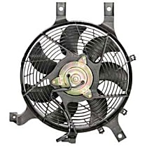 75355 A/C Condenser Fan - A/C Condenser Fan, Direct Fit, Assembly