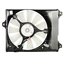 75385 A/C Condenser Fan - A/C Condenser Fan, Direct Fit, Assembly