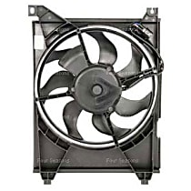 75388 A/C Condenser Fan - A/C Condenser Fan, Direct Fit, Assembly