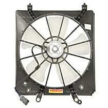 75534 Fan Motor - Direct Fit, Assembly