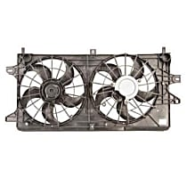 75608 OE Replacement Radiator and A/C Condenser Fan