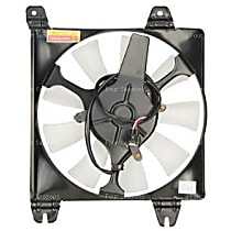 A/C Condenser Fan - A/C Condenser Fan, Direct Fit, Assembly