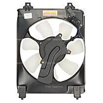 4-Seasons 75645 A/C Condenser Fan - A/C Condenser Fan, Direct Fit, Assembly