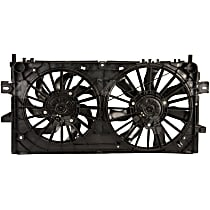 76028 OE Replacement Radiator and A/C Condenser Fan