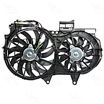 76248 OE Replacement Radiator and A/C Condenser Fan