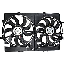 76301 OE Replacement Radiator and A/C Condenser Fan