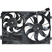 76304 OE Replacement Radiator and A/C Condenser Fan