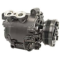 77548 A/C Compressor Sold individually With clutch, 4-Groove Pulley