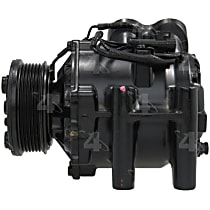 77561 A/C Compressor Sold individually With clutch, 6-Groove Pulley