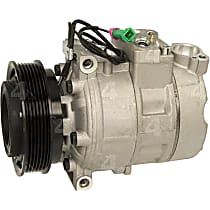 78313 A/C Compressor Sold individually With clutch, 6-Groove Pulley