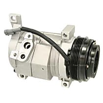 A/C Compressor Sold individually With clutch, 4-Groove Pulley