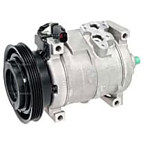 A/C Compressor With clutch, 4-Groove Pulley