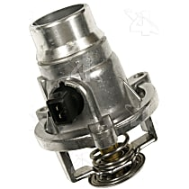 85956 Thermostat Housing - Natural, Aluminum, Direct Fit, Sold individually