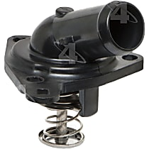 Thermostat Housing - Plastic, Direct Fit, Sold individually