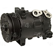 A/C Compressor With clutch, 6-Groove Pulley