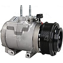 98322 A/C Compressor Sold individually With clutch, 8-Groove Pulley