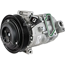 98398 A/C Compressor Sold individually With clutch, 6-Groove Pulley