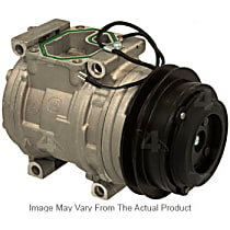 A/C Compressor Sold individually With clutch, 7-Groove Pulley