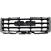 Grille Assembly - Chrome Shell with Painted Black Insert, Except Denali Model