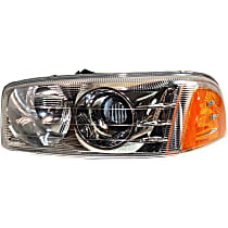 Headlight - Driver Side, For Denali, With Bulb(s)