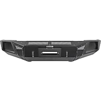 24295T BR Series Front Bumper, Powdercoated Textured Black