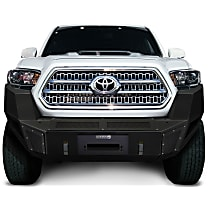 Front Bumper, Powdercoated Textured Black