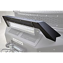 Light Bar - Powdercoated Textured Black, Steel, Direct Fit, Sold individually