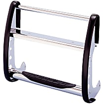 Steel Grille Guard, Chrome