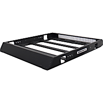 5934068T Cargo Basket - Powdercoated Textured Black, Aluminum, Universal Fit, Sold individually