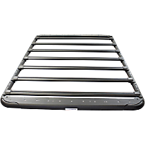 5935075T Cargo Basket - Powdercoated Textured Black, Aluminum, Universal Fit, Sold individually