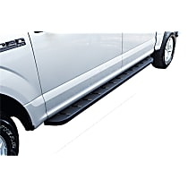 63410687T RB10 Raptor-Style Series Running Boards - Powdercoated Textured Black, Set of 2