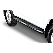 Go Rhino 415 SideSteps Powdercoated Textured Black Nerf Bars, Covers Cab Length - Set of 2