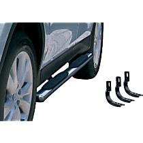 Polished Nerf Bars, Covers Cab Length - Set of 2