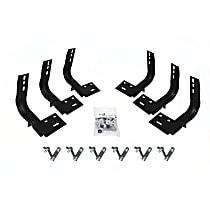 6903685 Running Board Mounting Kit - Black, Direct Fit, Kit