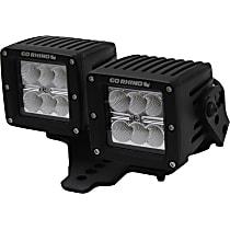 731230T Light Bar Mounting Kit - Textured Black, Sold individually