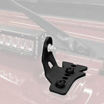 731300T Light Bar Mounting Kit - Powdercoated Textured Black, Direct Fit, Sold individually