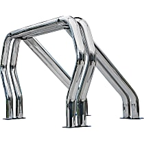 9009560DDC Bed Bar - Chrome, Steel, Direct Fit, Sold individually