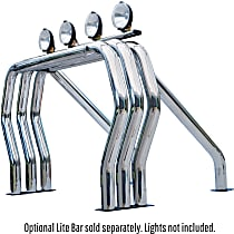 Bed Bar - Polished, Stainless Steel, Direct Fit, Sold individually