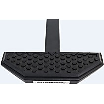 HS3012T Hitch Step - Black, Steel, Universal, Sold individually