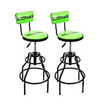 24931TWO Adjustable Hydraulic Shop Stool (2 Pack)