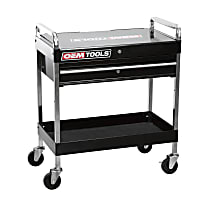 24961 Service Cart with Locking Lid and Drawer