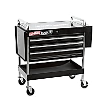 24962 Service Cart with 4 Drawers and One Tray